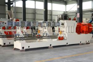 China Great Performance Conical Twin Screw Extruder Filler Masterbatch Granulator on sale