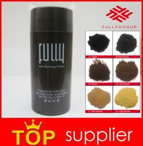 China Anti Hair Loss Product 2017 Natural Hair Care Keratin Fully Hair Fiber on sale