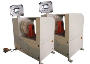 China PLC Control Automatic Coil Winding Machine With Length Counter For Cable on sale