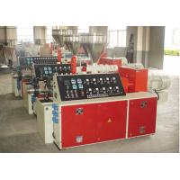 Conical Twin Screw Plastic Pipe Extrusion Machine Plastic Extrusion Machinery