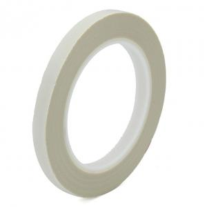 China Silicone Adhesive Electrical Insulation Tape , 0.18mm White Glass Cloth Tape on sale
