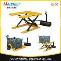 China 1000kg 860mm static mini electric lift platform with U shape section on sale