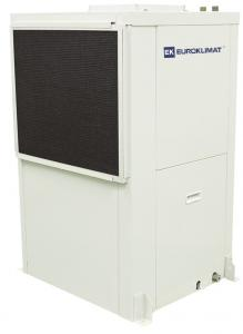 China Residential 50kw / 80kw Water Source Heat Pump Package Unit Horizontal / Vertical on sale