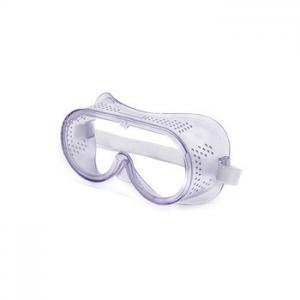 China Laboratory Safety Glasses Goggles , Head - Mounted Clear Safety Glasses supplier