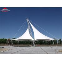 China Landscape Tensile Membrane Fabric Structure Environmentally Friendly on sale