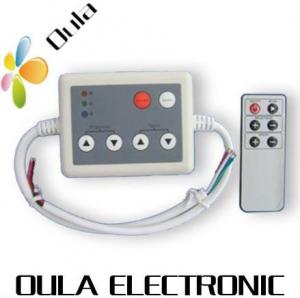 China Aluminum Constant Current 4 Key RF LED Lighting Controllers DC5V With 8A, 1 Channel on sale