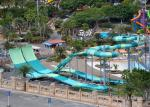 9 - 18M Platform Height Water Park Slide Four Person Round Rafts