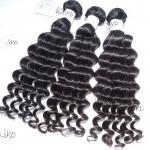 International Eurasian Indian Remy Hair Extensions , Deep Wave Human Hair