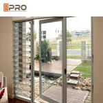 Aluminum frame hinged door with double low E glass for residential house in Australia