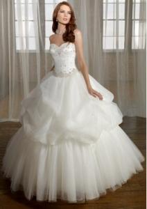 China Ball Gown Beading Bridal Wedding Dresses (Ogt031W) on sale
