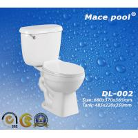 China Ceramic Sanitary Ware Siphonic Two Piece Toilets Wc (DL-002) on sale