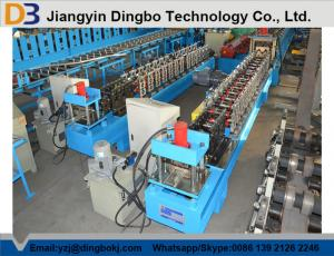China Automatic Roller Shutter Door Roll Forming Machine With PLC Control 10-15M / Min on sale