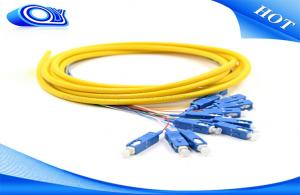 China SC / UPC APC PC Simplex Fiber Patch Cord PVC LSZH For Premise Installations on sale