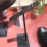 Exposição das sapatas do lether da bancada dos calçados display-GCNM-04
