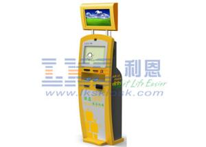 China Digital Self Check In Kiosk 17 inch For Human Resources Application on sale