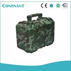 China AC/DC Solar Power Inverter , Pure Sine Wave Power Inverter Easy Carry Luggage Backup Power on sale