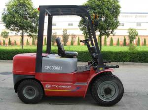 China System Working Pressure 16.0MPa JGM738 Middle 3 Ton Diesel Forklift on sale