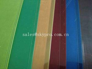 China Die Cut Plastic OEM Rigid Transparent Color PVC Conveyor Belt PP PET Plastic Sheet on sale