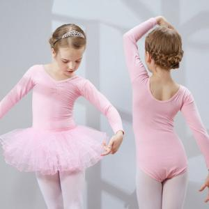 b6f334386 ... Quality Children dance clothes girls long sleeve gymnastics distinction  ballet dance for sale ...
