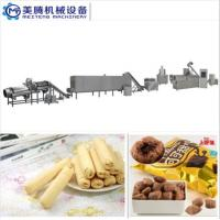 hot sales Puff Corn Snack Production Line Puffed core filling food machine Food snack extruder machine