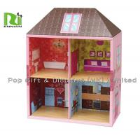 Two Layers Showing Corrugated Cardboard House Kids Play Hut Toy