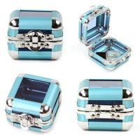 Elegant Design Jewelry Train Case , Jewelry Carrying Case For Travel