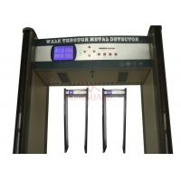 China Professional 45 Zone Portable Walk Through Metal Detector With Remote Control K645 on sale