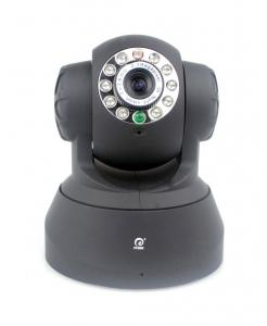 China Pan / Tilt Wifi Dome IP Camera With CMOS Sensor , PPPOE / UPNP Built-in Microphone on sale