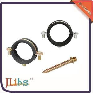 Single Gas Pipe Clamp , M6 Plastic Pipe Clips -40 ℃ - 110℃ Working
