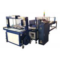 China Auto Corrugated Carton Box Strapping Bunding Machine 6kg/Cm3 Gas Source Type on sale