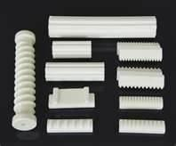 China High electrical insulation Steatite / Alumina / Zirconia ceramic Components for industry on sale