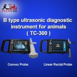TIANCHI Pregnancy Test Veterinary B Ultrasound TC-300 China Manufacturer