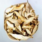 空気によって乾燥される椎茸きのこの切れ