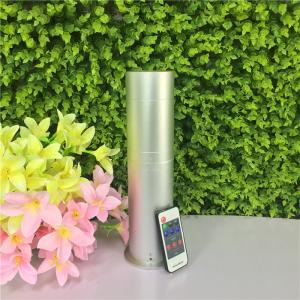 China 130ML Silver Standalone Electric Room Aroma Diffuser With Remote Control For Home on sale