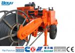 Orange 129kw 173hp Overhead Line Stringing Equipment Hydraulic Cable Puller