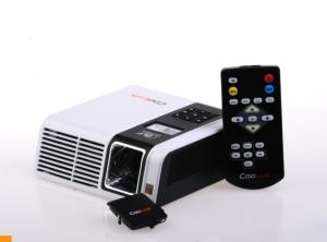 China mini 0.6 ~ 8.4m led home theatre projectors Support DIVX XVID VOB MJPEG DAT on sale