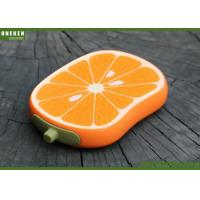 Orange Shaped Cell Phone Power Bank , Iphone 5s / 6 / 6s Power Bank