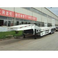 40 ton low bed Semi-trailer with tri-axle