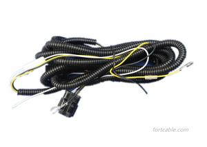 China 100% Waterproof Wire Harness Assembly 12V Input Voltage 35W / 55W Output Power on sale