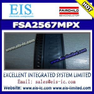 China FSA2567MPX - FAIRCHILD - Low-Power, Dual SIM Card Analog Switch - Email: sales009@eis-ic.c on sale