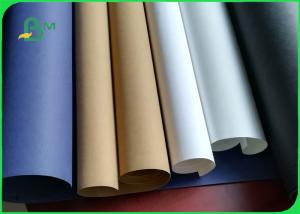 China 0.5mm Washable Gold / Blue / Red / Black / White / Silver Color Kraft Paper on sale