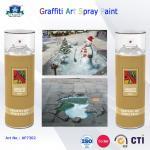 peinture de séchage rapide environnementale d'art de jet de graffiti en boîte par 400ml pour l'artiste sur le bois en métal
