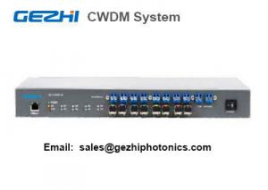 China CWDM system 4 Channel Mux Demux Management Access System over Fiber Multiplexer on sale