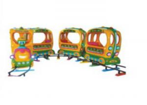 China Complete Safe Big Size Kids Ride On Train With Track 7-10 Years Using Life on sale