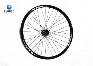 China Black Aluminum Alloy Electric Bike Accessories 26 Inch Front Wheel With 20mm Hub on sale
