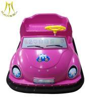 Hansel  amusement indoor remote control electric plastic bumper cars for sale