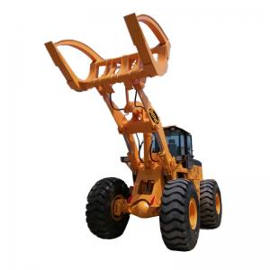 China BENE hot sale atv log grap loader with Cummins engine 8ton/10ton/12ton15ton wheel loader with grapples attachments on sale