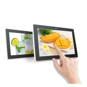China Wall-mounted Android 10.1 inch touch screen tablet pc on sale