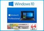 Multi Language Win 10 Pro Microsoft Coa Sticker32bit 64bit Oem Key For Computer