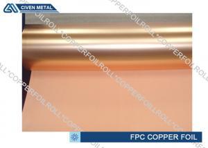 China High bending resistance PCB Copper Foil for Flexible Copper Clad Laminate on sale